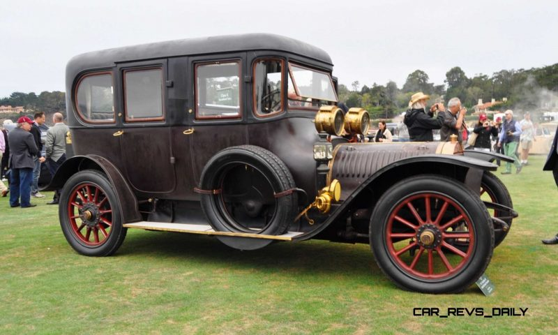 1911 Hotchkiss AD Amiet Enclosed Limousine 10