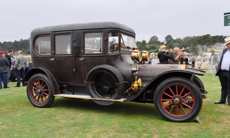1911 Hotchkiss AD Amiet Enclosed Limousine 11