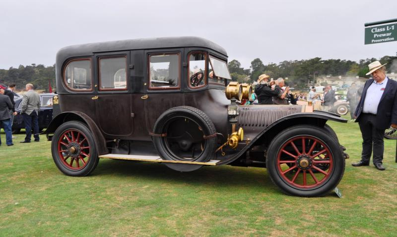 1911 Hotchkiss AD Amiet Enclosed Limousine 12