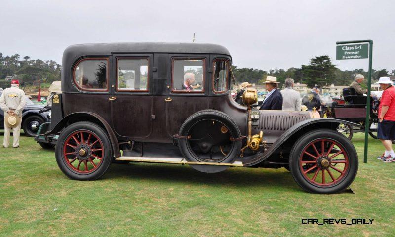 1911 Hotchkiss AD Amiet Enclosed Limousine 15