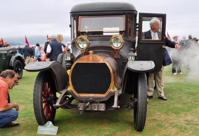 1911 Hotchkiss AD Amiet Enclosed Limousine 3