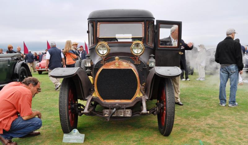 1911 Hotchkiss AD Amiet Enclosed Limousine 4