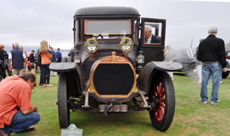 1911 Hotchkiss AD Amiet Enclosed Limousine 6