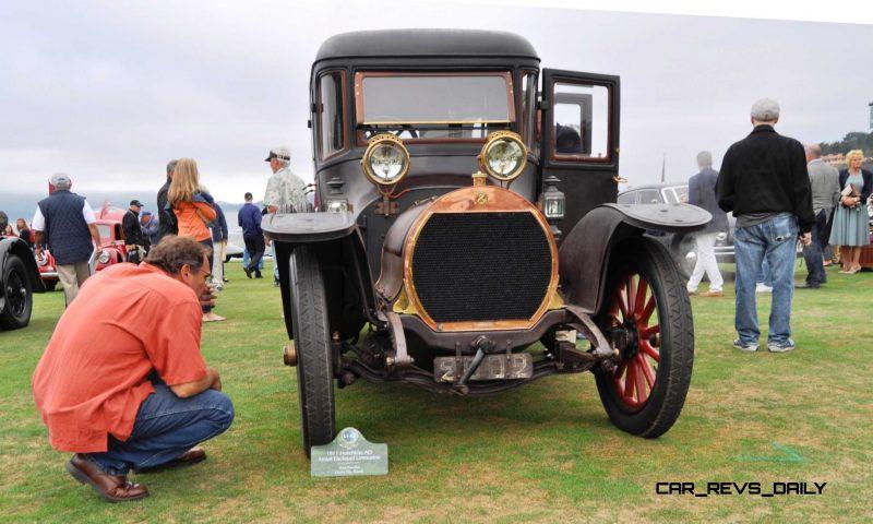 1911 Hotchkiss AD Amiet Enclosed Limousine 7