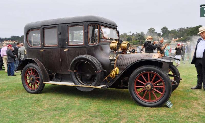 1911 Hotchkiss AD Amiet Enclosed Limousine 9