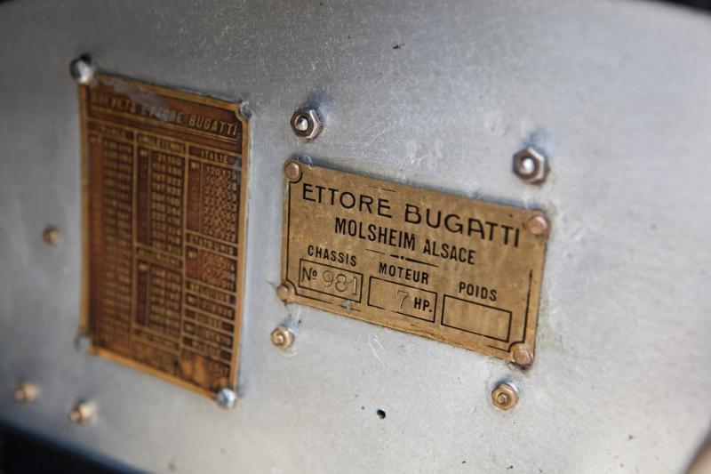 1920 Bugatti Type 23 21