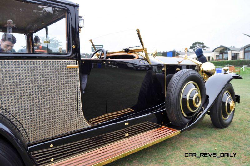 1929 Rolls-Royce Phantom I Brewster Riviera 10