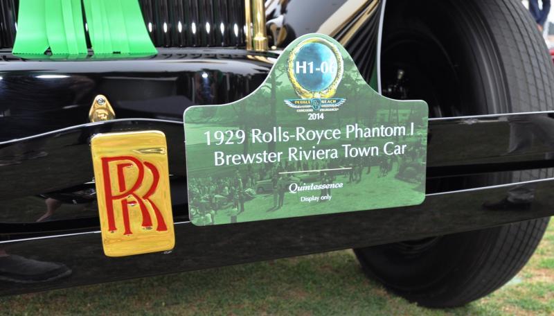 1929 Rolls-Royce Phantom I Brewster Riviera 15
