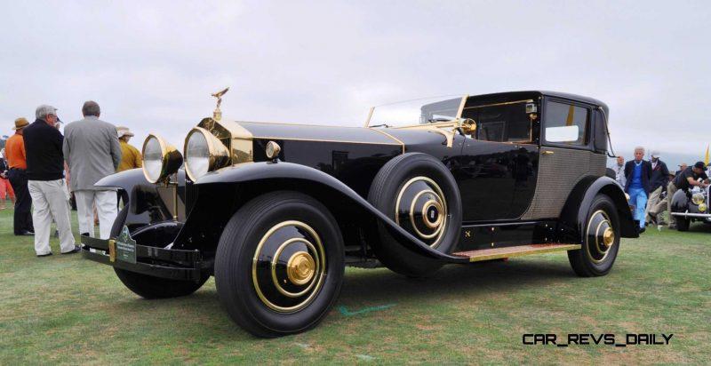 1929 Rolls-Royce Phantom I Brewster Riviera 17