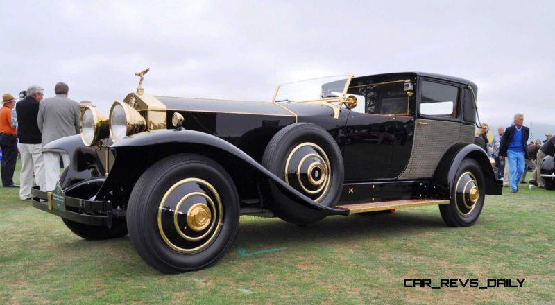 1929 Rolls-Royce Phantom I Brewster Riviera 18