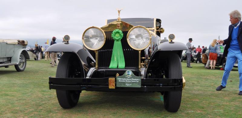 1929 Rolls-Royce Phantom I Brewster Riviera 22