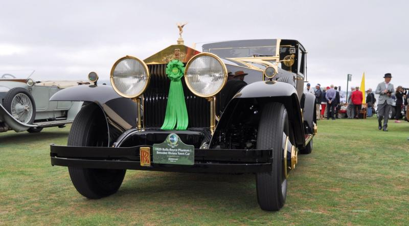 1929 Rolls-Royce Phantom I Brewster Riviera 24
