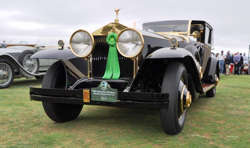 1929 Rolls-Royce Phantom I Brewster Riviera 25