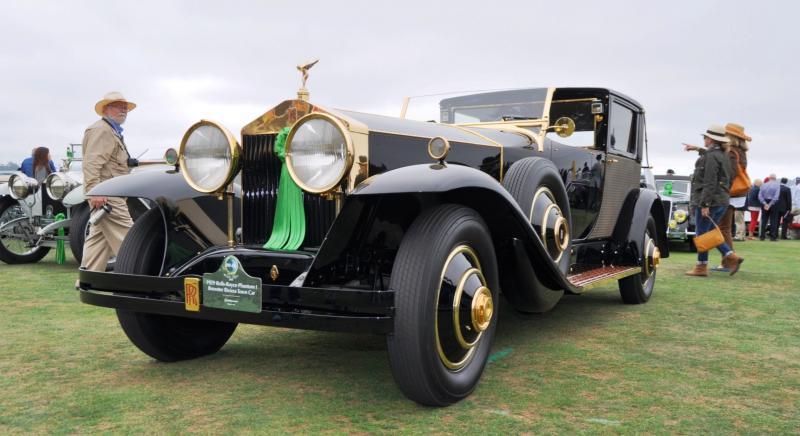 1929 Rolls-Royce Phantom I Brewster Riviera 27