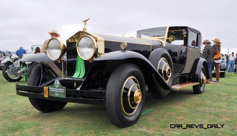 1929 Rolls-Royce Phantom I Brewster Riviera 28