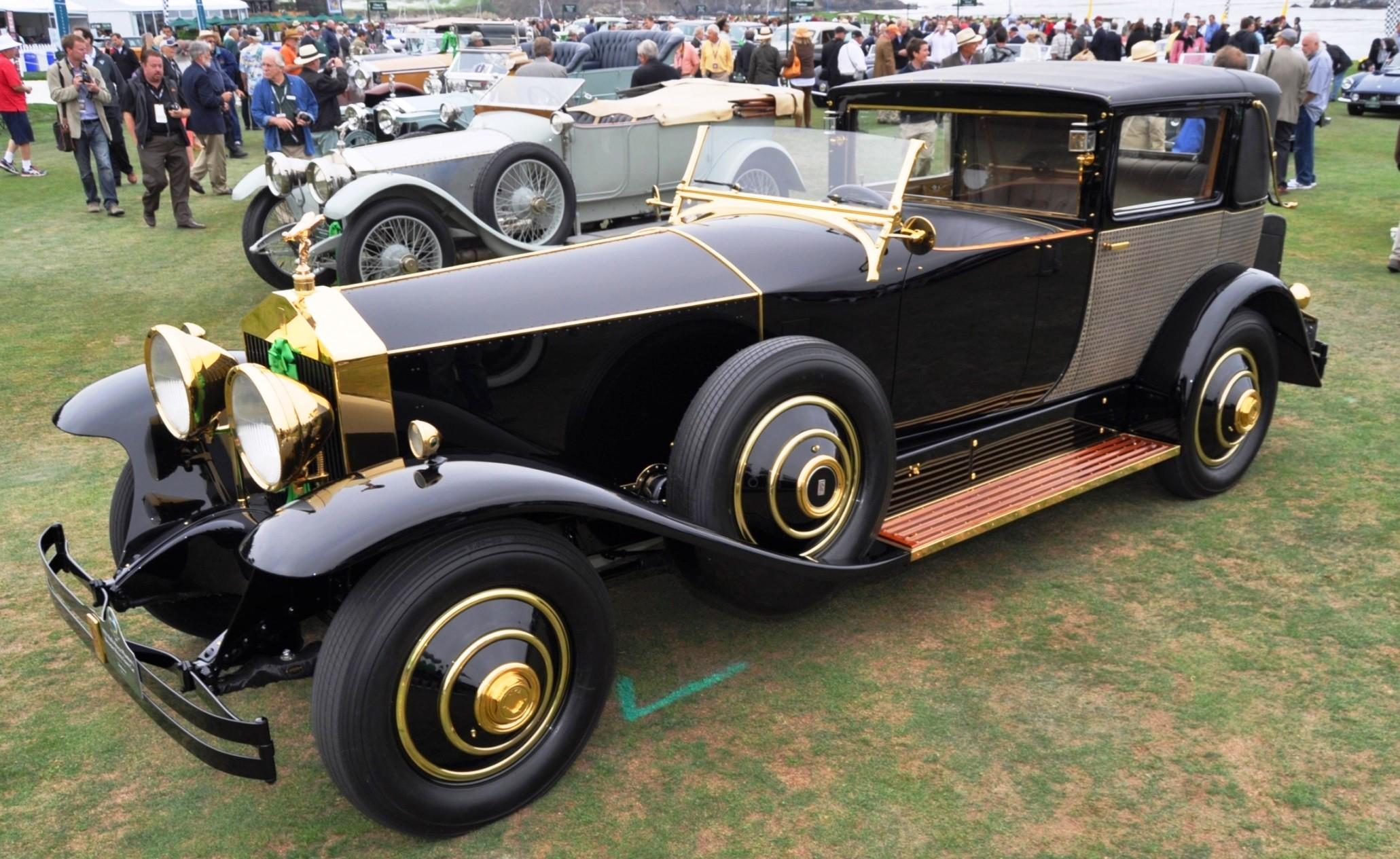 Pebble Beach Concours 1929 Rolls Royce Phantom I
