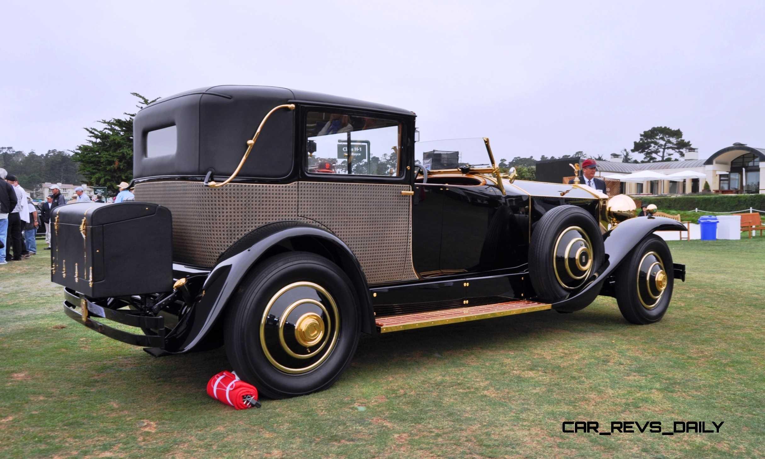 Rolls Royce Limo >> Pebble Beach Concours - 1929 Rolls-Royce Phantom I ...