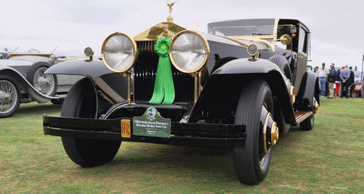 1929 Rolls-Royce Phantom I Brewster Riviera gif