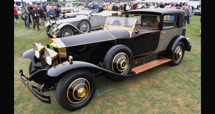 1929 Rolls-Royce Phantom I Brewster Riviera gif4