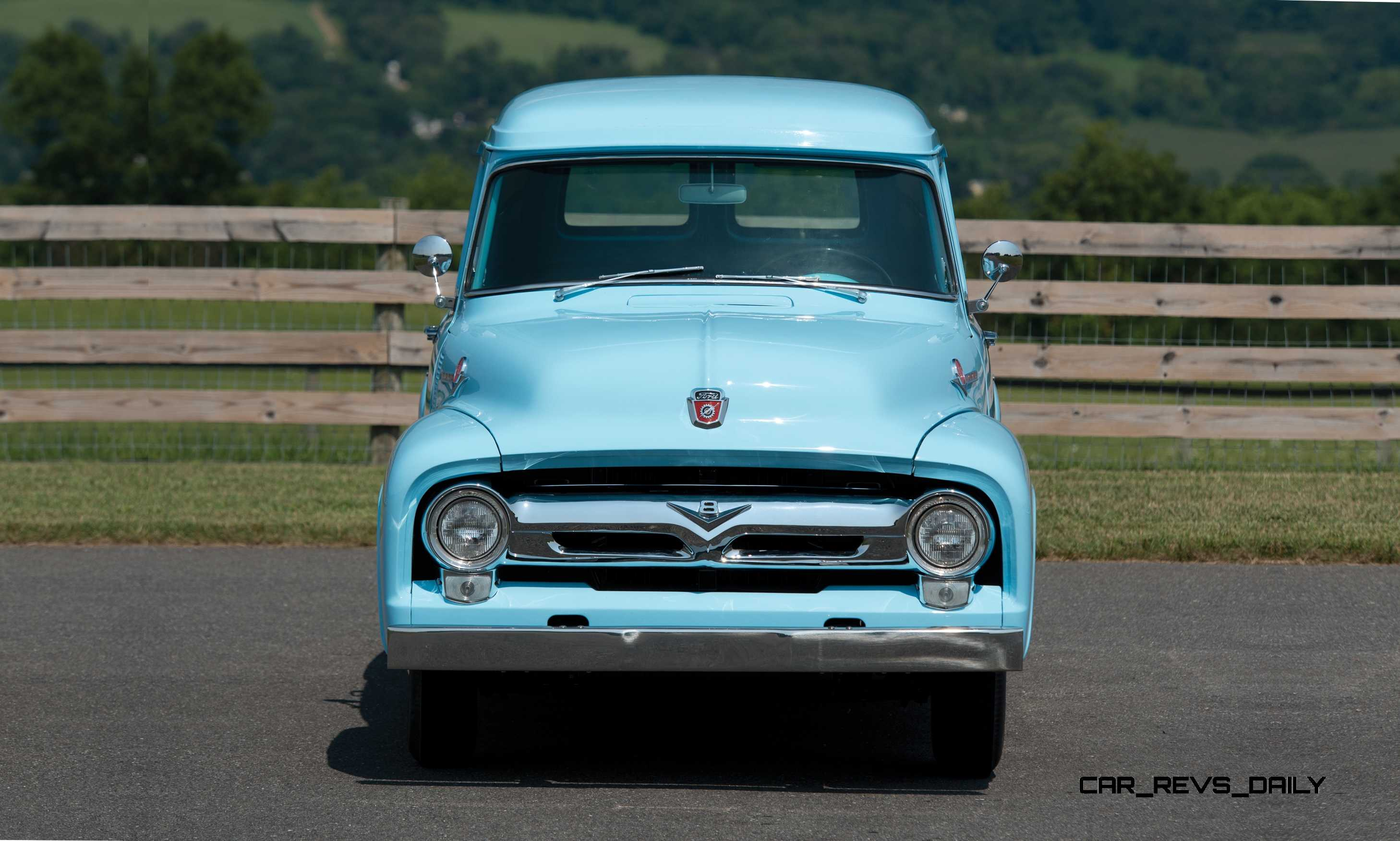 Ford Escape Sport >> RM Hershey 2014 Highlights - 1956 Ford F-100 Panel Truck