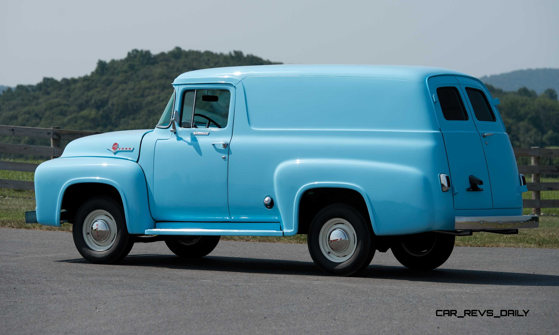 1956 ford f 100 panel truck 2. Black Bedroom Furniture Sets. Home Design Ideas