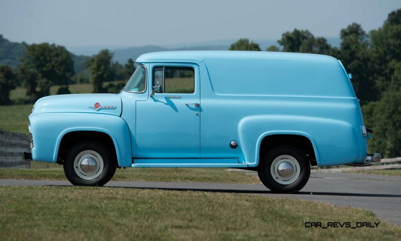 1956 Ford F-100 Panel Truck 5