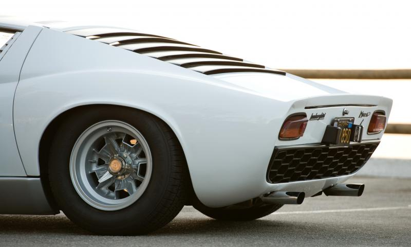 1969 Lamborghini Miura P400S 22