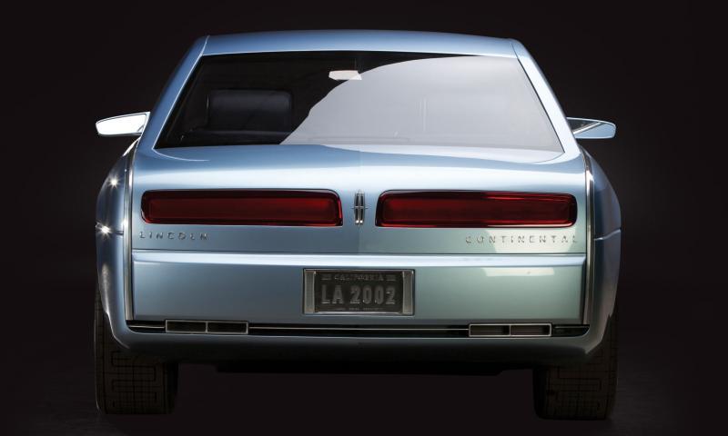 2002 Lincoln Continental Concept 5