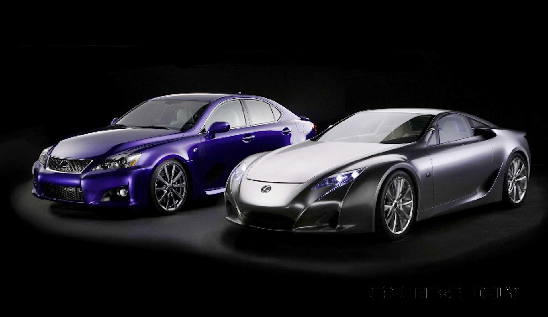2005 Lexus LFA Coupe 11