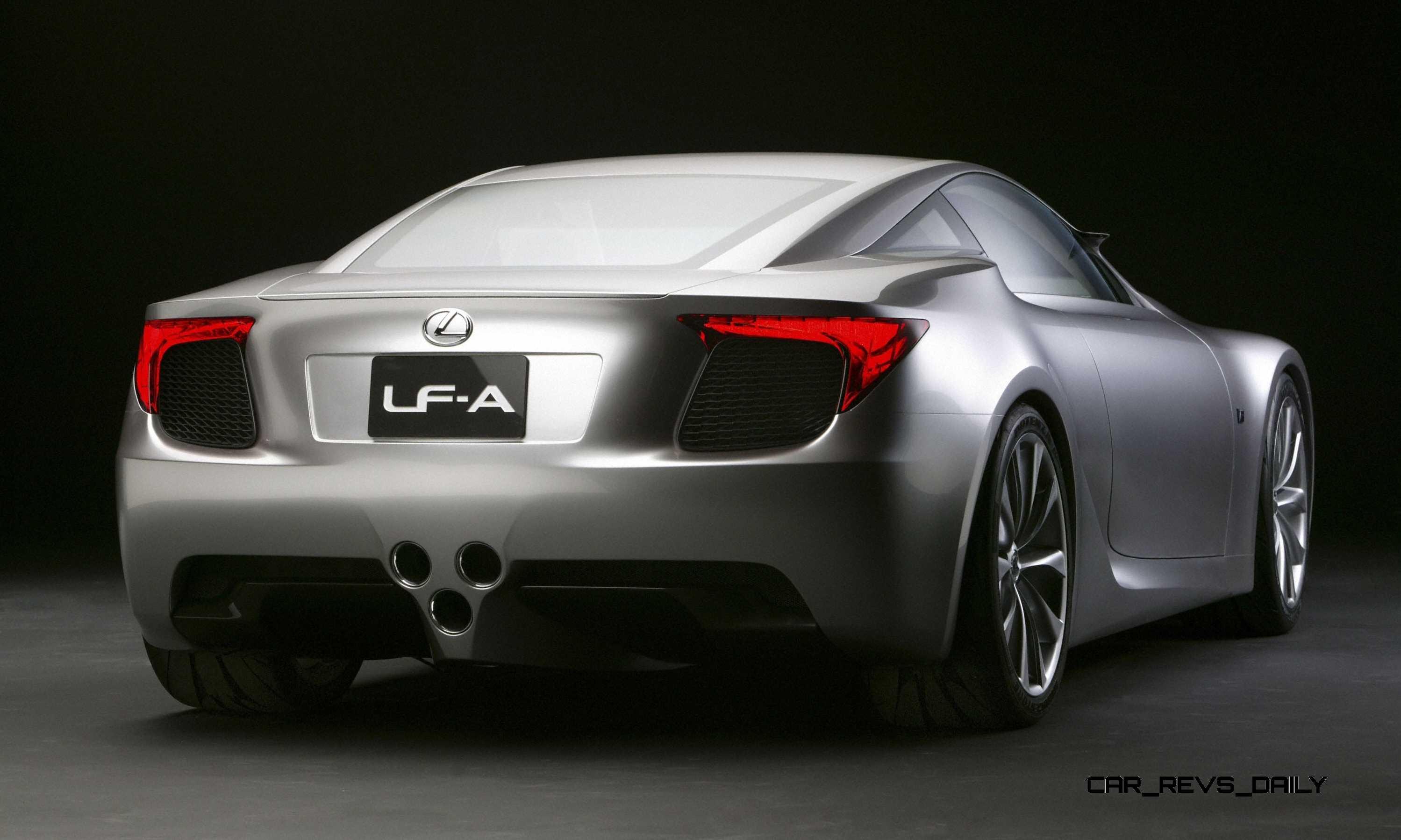 2005 Lexus LFA Coupe 9