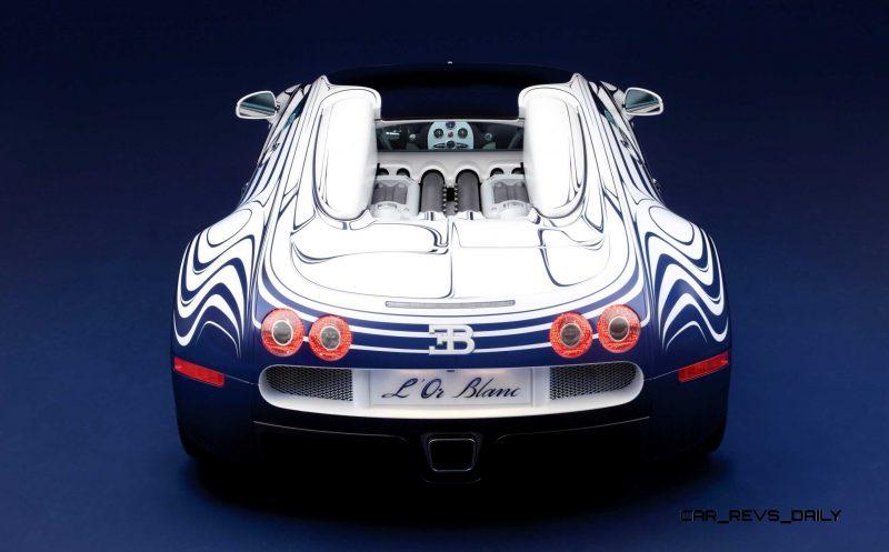 2011 Bugatti Veyron L'Or Blanc 29