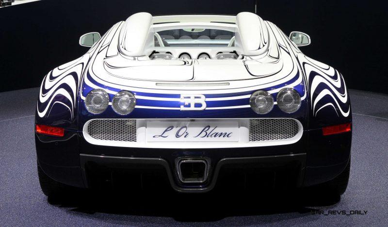2011 Bugatti Veyron L'Or Blanc 37
