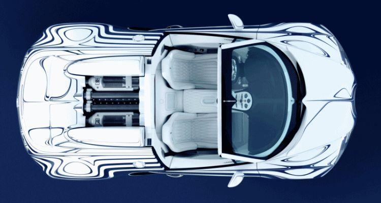 2011 Bugatti Veyron L'Or Blanc gif