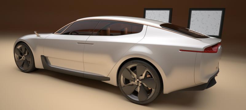 2011 Kia GT 16