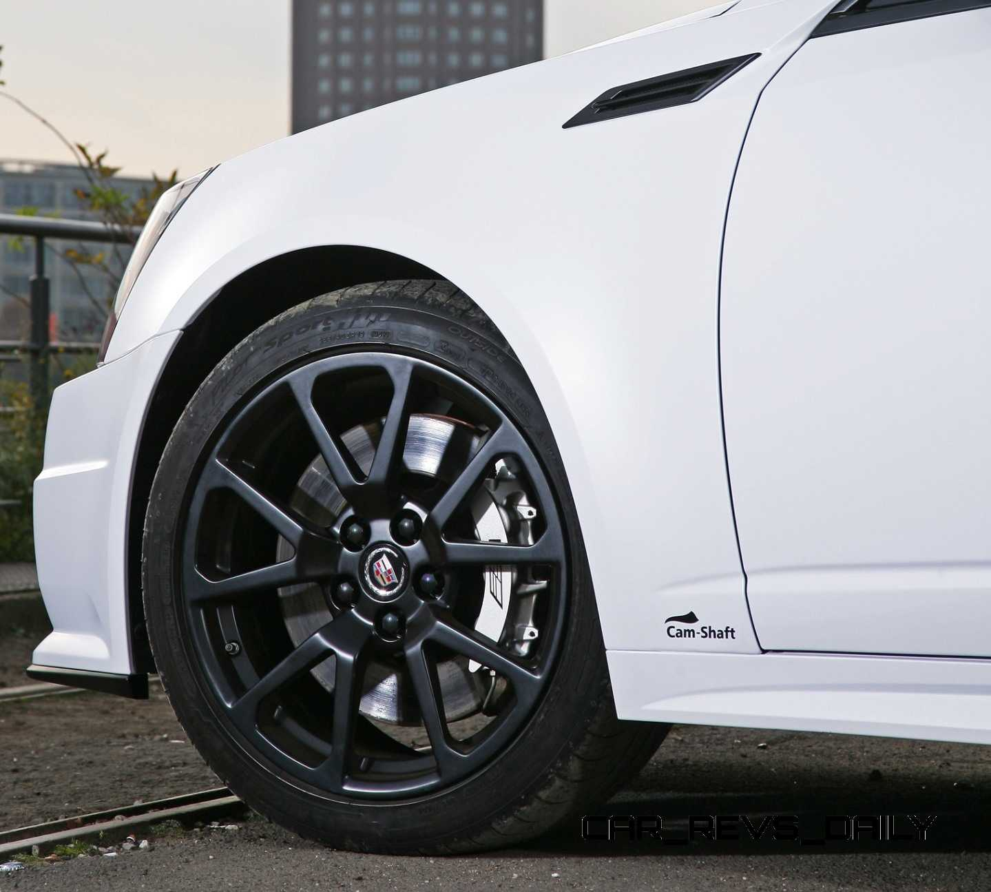 2014 Cadillac Cts Camshaft: 2012 Cadillac CTS-V With Satin White Wrap By CAMSHAFT