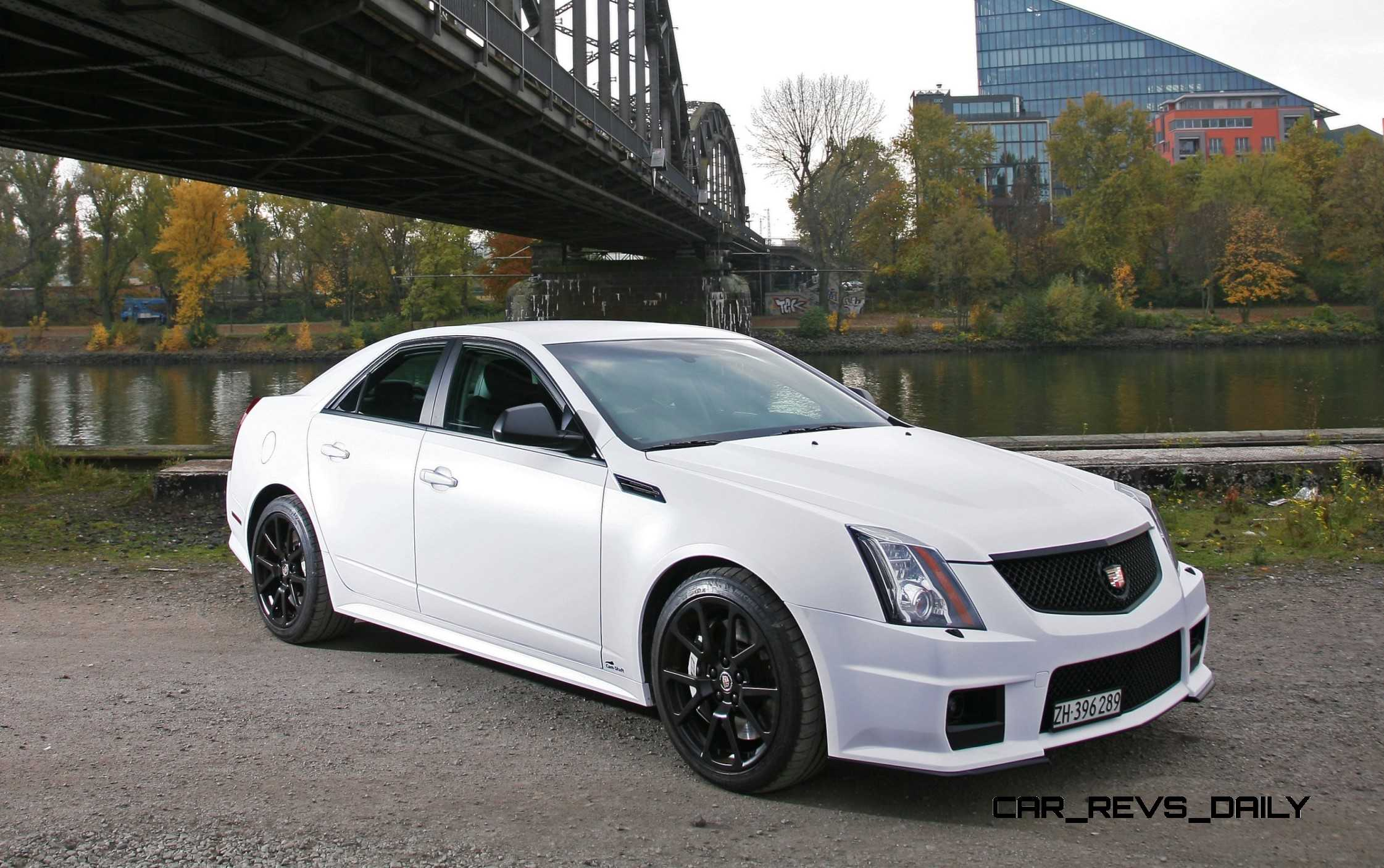 Cadillac Cts-V Wagon For Sale >> 2012 Cadillac CTS-V with Satin White Wrap by CAMSHAFT
