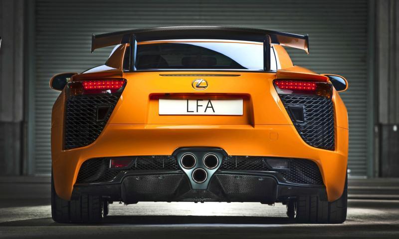 2012 Lexus LFA Nurburgring 24