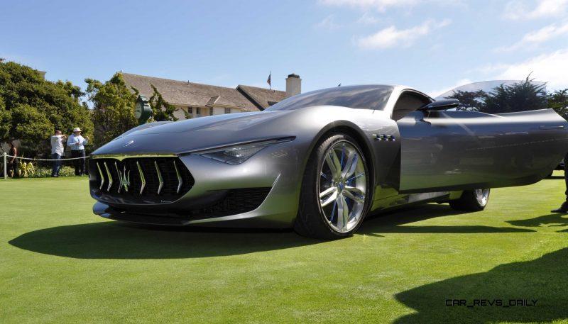 2014 Alfieri Maserati Concept Pebble Beach 14