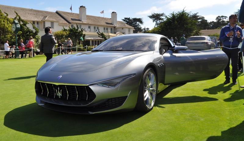 2014 Alfieri Maserati Concept Pebble Beach 16