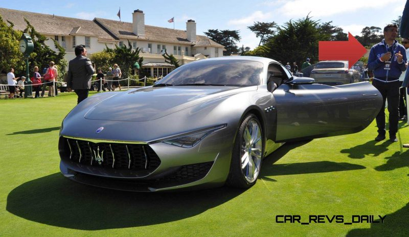 2014 Alfieri Maserati Concept Pebble Beach 19