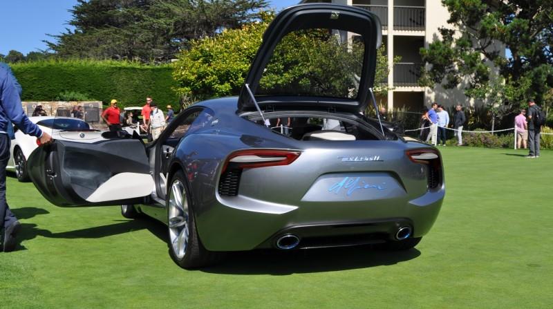 2014 Alfieri Maserati Concept Pebble Beach 7