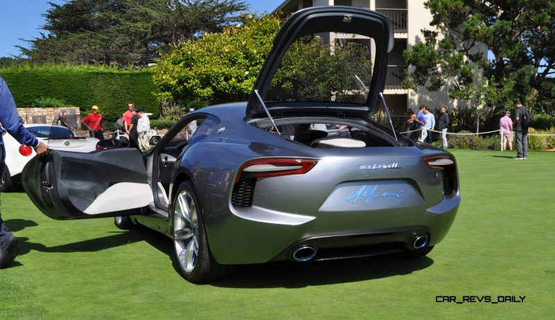 2014 Alfieri Maserati Concept Pebble Beach 8