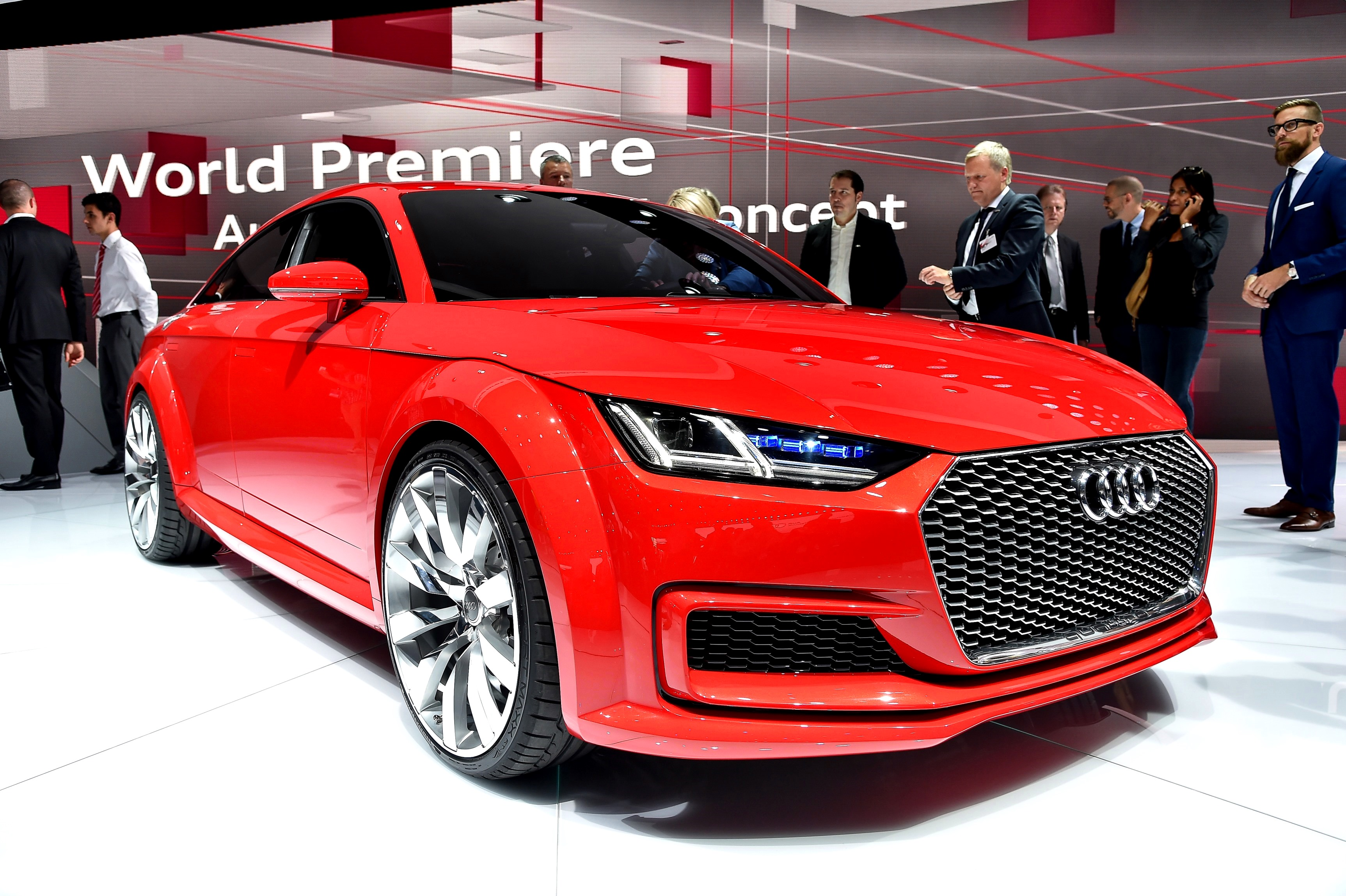 2014 audi tt sportback concept is a stylish escape from current audi styling funk. Black Bedroom Furniture Sets. Home Design Ideas