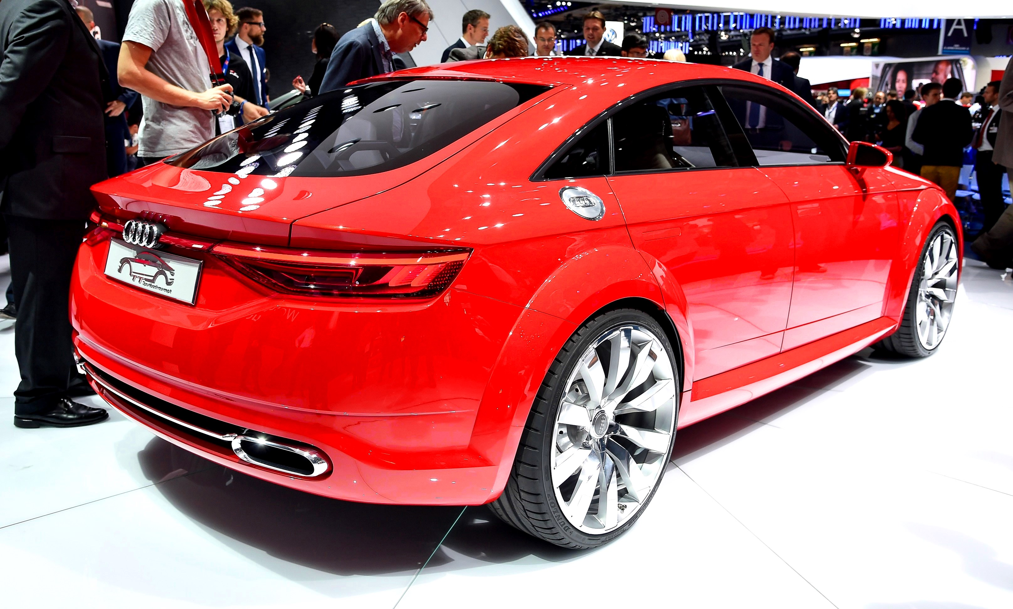 2014 Audi Tt Sportback Concept Is A Stylish Escape From