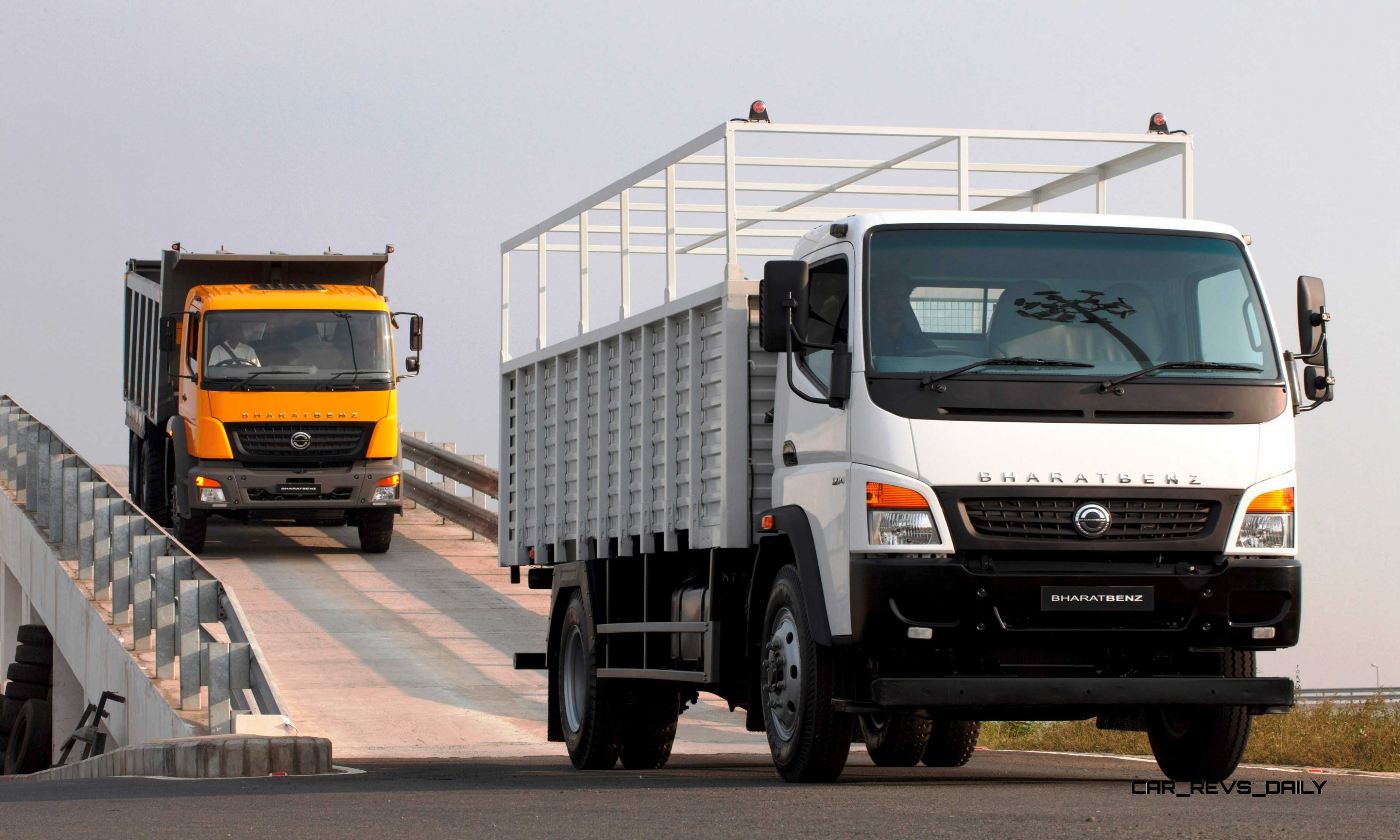 Meet Bharatbenz India S Locally Made Trucks Seeing Huge Growth Via Combo Of Low Cost High