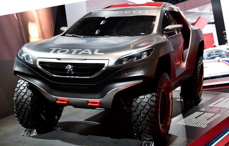 2014 Peugeot 2008 DKR Prototype 1
