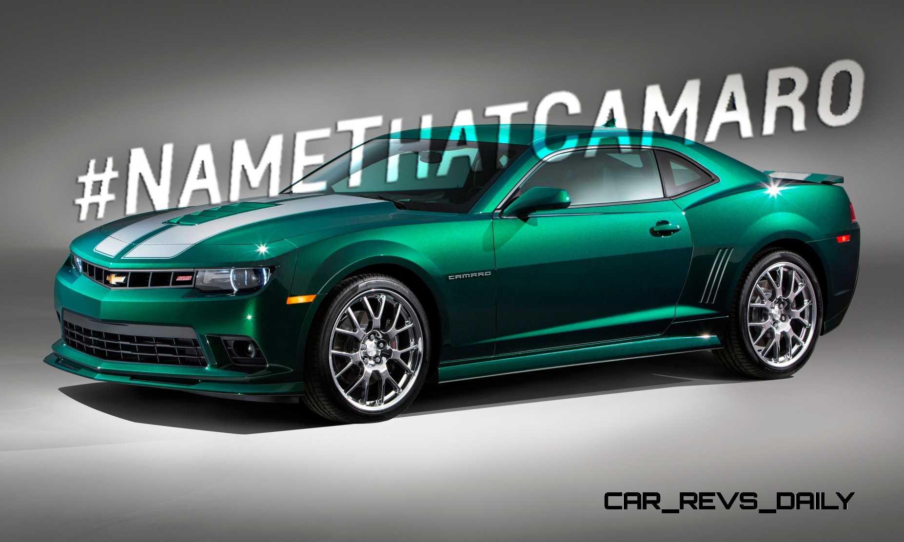 2014 Chevy Ss For Sale >> #NameThatCamaro! 2015 Chevrolet Camaro SS Emerald Green ...