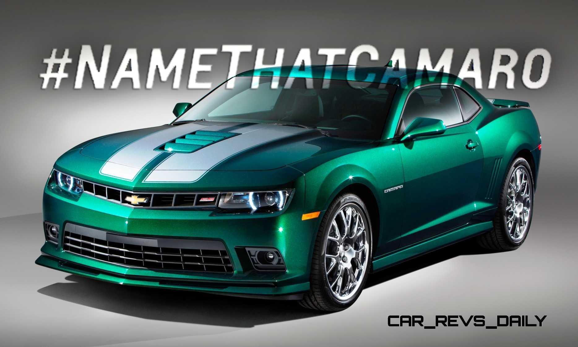 NameThatCamaro 2015 Chevrolet Camaro SS Emerald Green