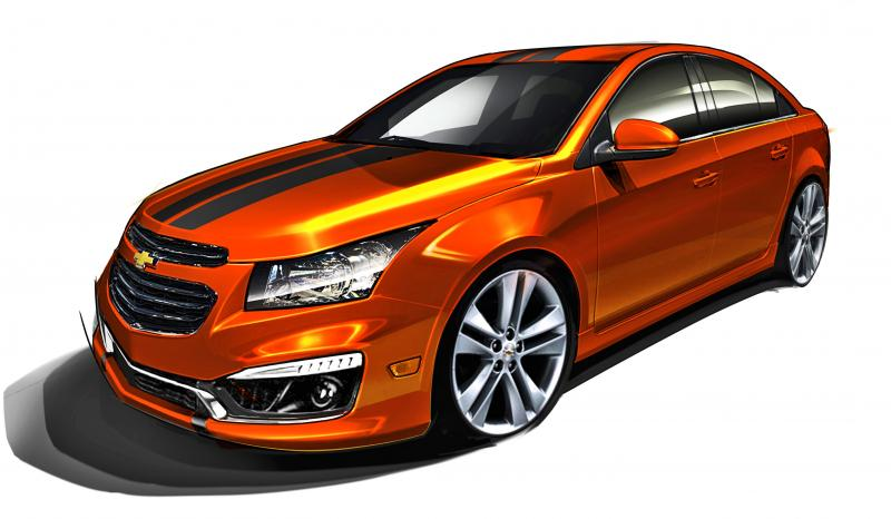 Chevrolet Sema Cars Lineup Includes Blacked Out Impala Ss Cruze And Sonic Sedans