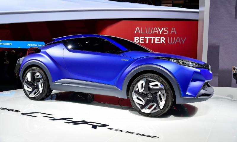 Toyota previews new CHR crossover concept bound for Paris